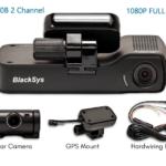 BlackSys CH-100B Review 2 Channel Dash Cam