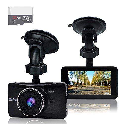 Old-Shark 3″ Dashboard Camera
