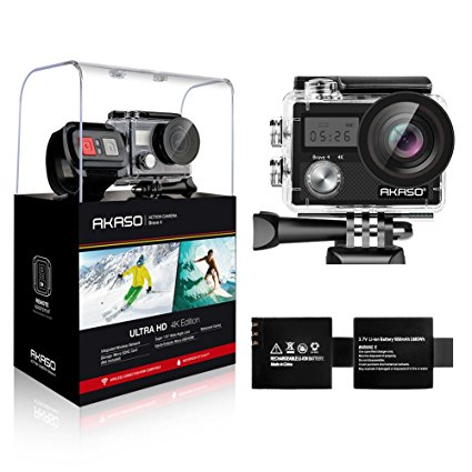 AKASO Brave 4 Action Camera 4K 20MP
