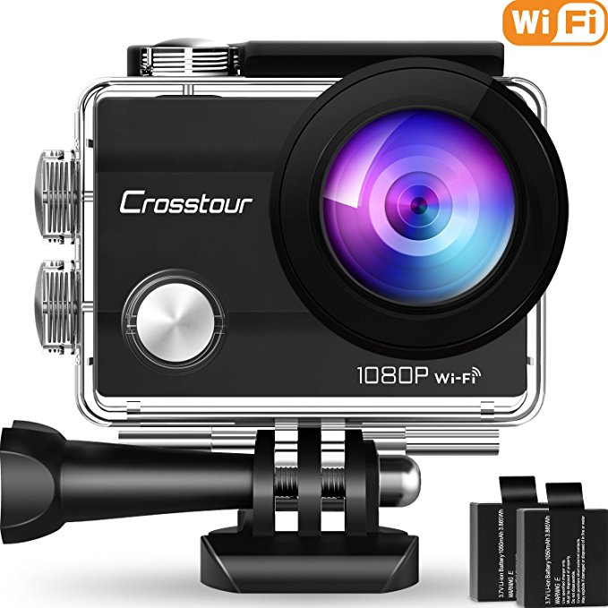 Crosstour Action Camera Underwater Cam