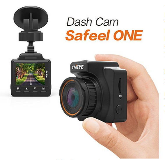 ThiEYE Safeel ONE Car Dash Cam