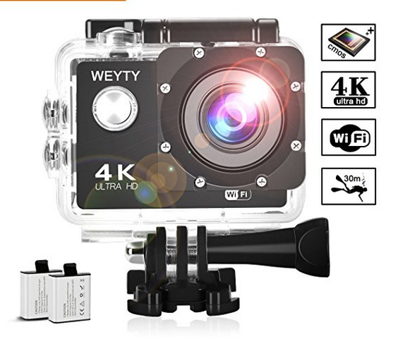 WeyTy X6S Underwater Action Camera