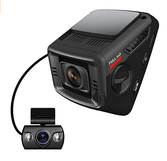 ITRUE X6D Night Vision Dual Car Dash Cam