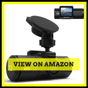 Vantrue T2 Dash Cam Wave Guard Parking Mode Recorder