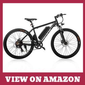 Merax 26 Aluminum Electric Mountain Bike
