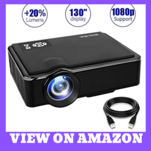 SOMEK K99 Movie projector for Home / Outdoor
