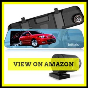 KDLINKS R100 HD Dual Dash Cam