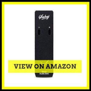 Sabaj Da2 2in1 Portable Headphone Amplifier USB DAC Earphone AMP