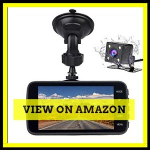 Veoker Full HD 1080P Wide Angle Car Dash Cam