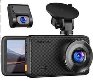 APEMAN C860 Dual Dash Cam, Best Front and Rear Dash Cam for Trucks