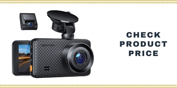APEMAN 1440P&1080P Dual Dash Cam with 3 Inch IPS Screen