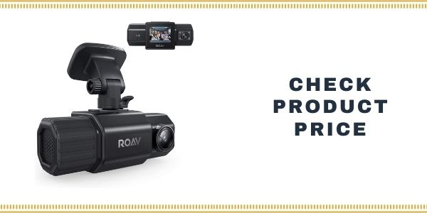 Anker Roav Dual FHD 1080p Dash Cam for Uber